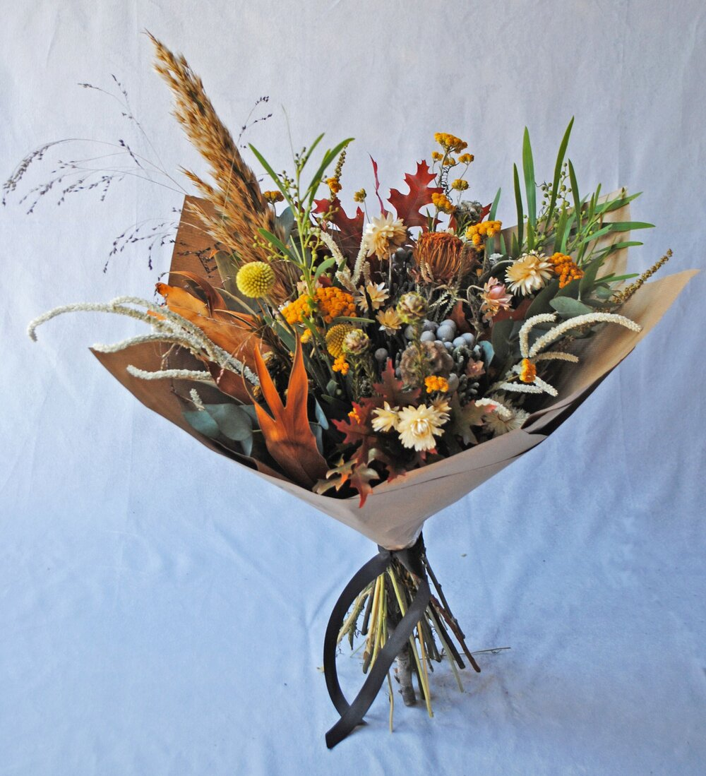 dried flower bouquets