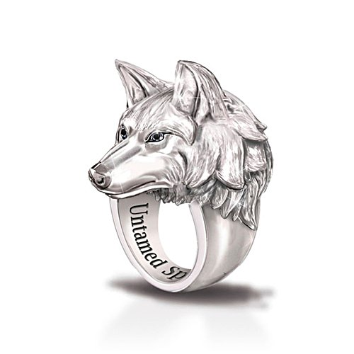 Wolf ring settings
